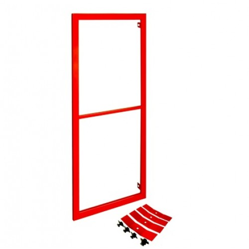 Рама для пожарных шкафов ПРЕСТИЖ-03 (ШПК-320) красная -