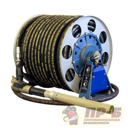 Ручной пожарный ствол с рукавной катушкой СРВДК-2/400-90 (электропривод) - Cтволы пожарные ручные