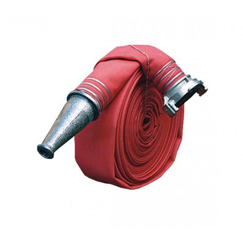Пожарный рукав Латексированный (Латекс) диаметр 51 мм в сборе с головкой ГР-50 и стволом РС-50 -