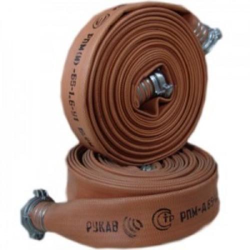 Рукав пожарный «Армтекс» диаметр 77 мм в сборе с головками ГР-80 -