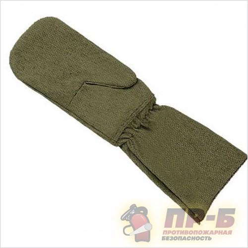 Рукавицы с крагами (тип «Е») ткань Брезент СКПВ + ОП - Перчатки и рукавицы специальные