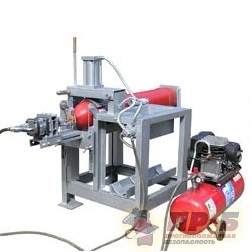 ТЦ-22 стенд для вывинчивания и завинчивания ЗПУ баллонов высокого давления -