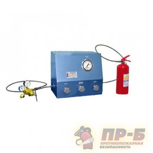 ТЦ-50 стенд для испытаний на герметичность ЗПУ и заправки закачных огнетушителей воздухом - Комплектующие к огнетушителям