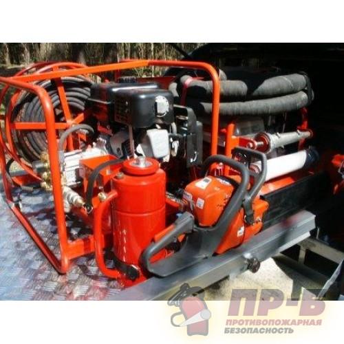 Установка противопожарная высокого давления (УПВД) - Мотопомпы пожарные (высоконапорные)