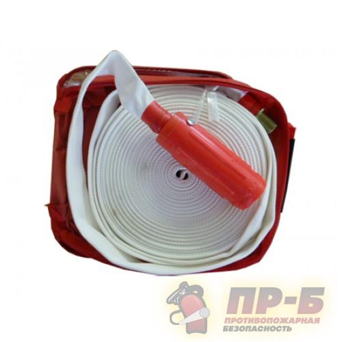 Внутриквартирный рукав комплекта КПК (рукав латексный, белый, в чехле) - Устройства квартирного пожаротушения