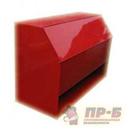 Ящик для песка 0,3 м3 с дозатором - Ящики для песка