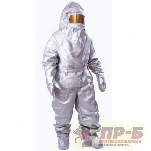 Защитный костюм ТОК-200 огнеупорный теплоотражательный - Алюминизированная одежда Ток