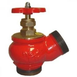 Клапан пожарный чугунный угловой 125°
